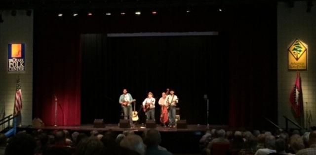 Hickory Hill at Mountain View Fall Bluegrass Festival 2016
